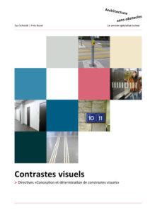 image de la page une des directives pour la conception et détermination des contrasts visuels